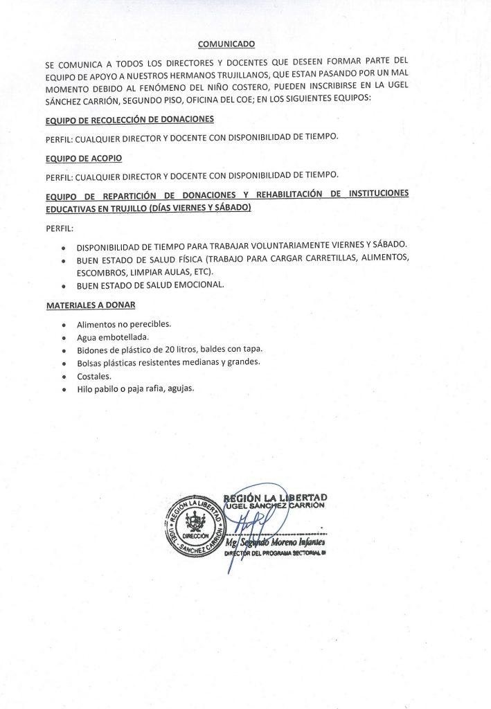 SOLIDARIDAD CON NUESTROS HERMANOS DAMNIFICADOS Urg…