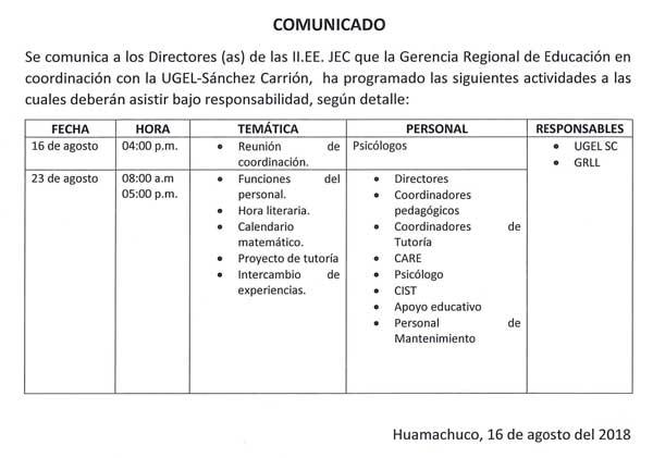 Instituciones Educativas JEC actividades a las cua…